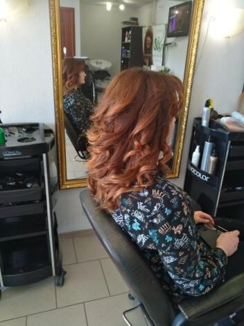 Окрашивание волос в Ангарске