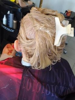 окраска волос ангарск